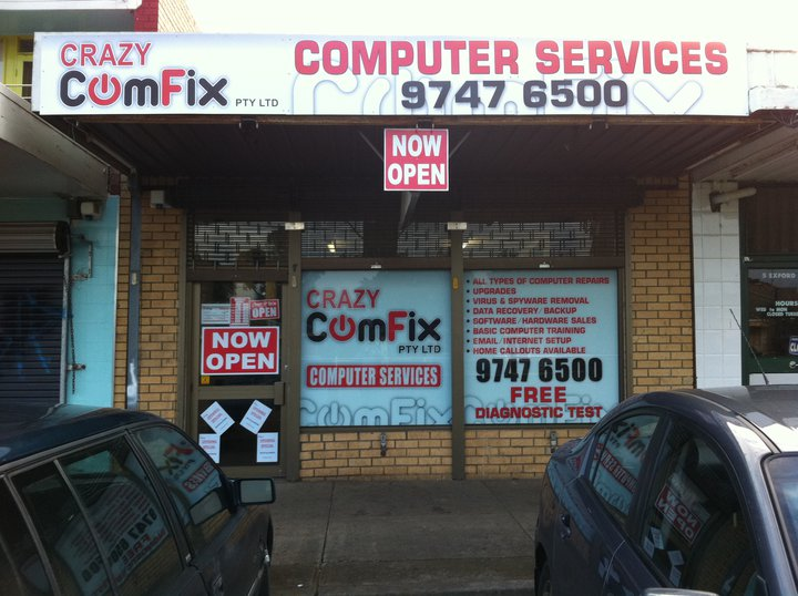 Crazy Comfix, Phone, Tablet & Computer Repairs in Melton